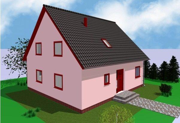 Фото двухскатных крыш домов одноэтажных