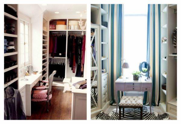 Где найти место для гардеробной в небольшой квартире