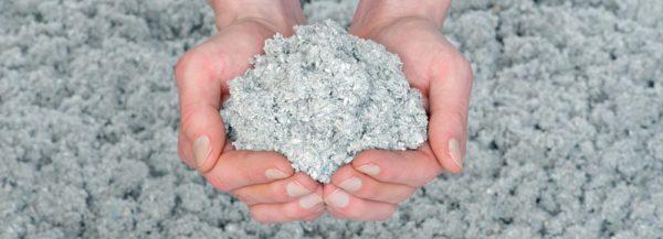 Эковата — экологичный утеплитель на основе целлюлозы