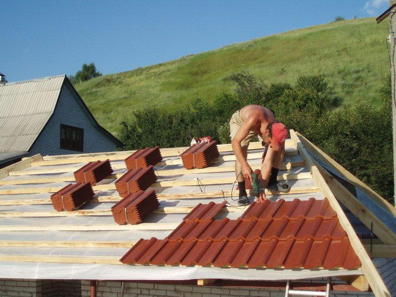Материалы пароизоляция крыши
