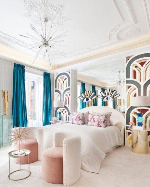 8 красивых идей для декора спальни