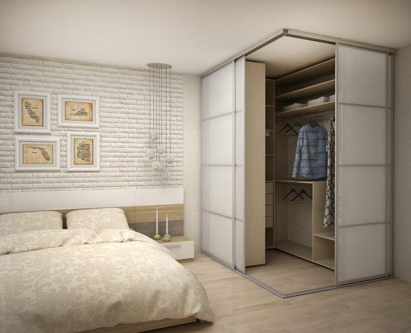 Как сделать гардеробную в спальне