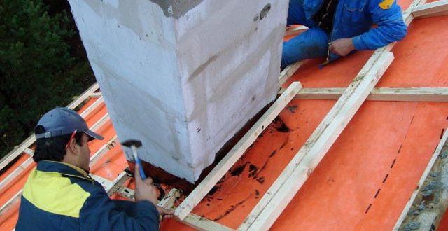гидроизоляция трубы на крыше