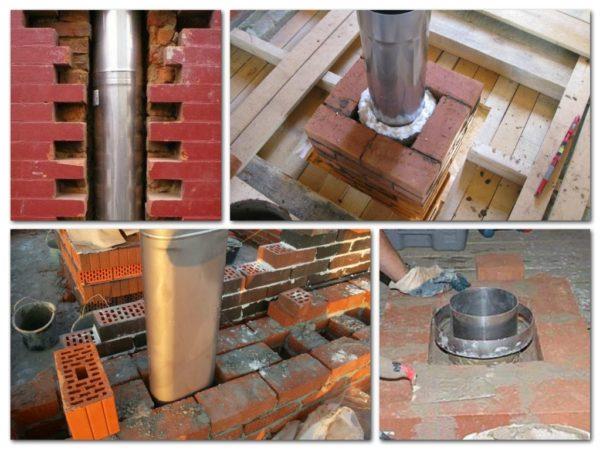 Гильзование или футеровка – внутрь трубы устанавливается металлическая гильза из трубы