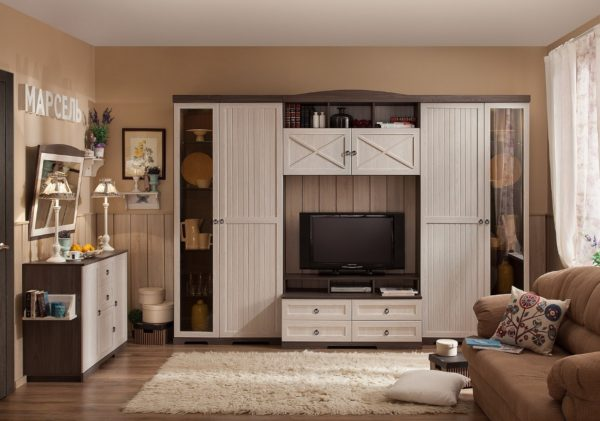 Как выбрать удобный и вместительный шкаф для гостиной