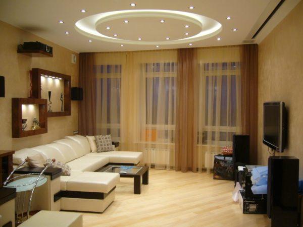 Для каких комнат хорошо подойдет точечное освещение