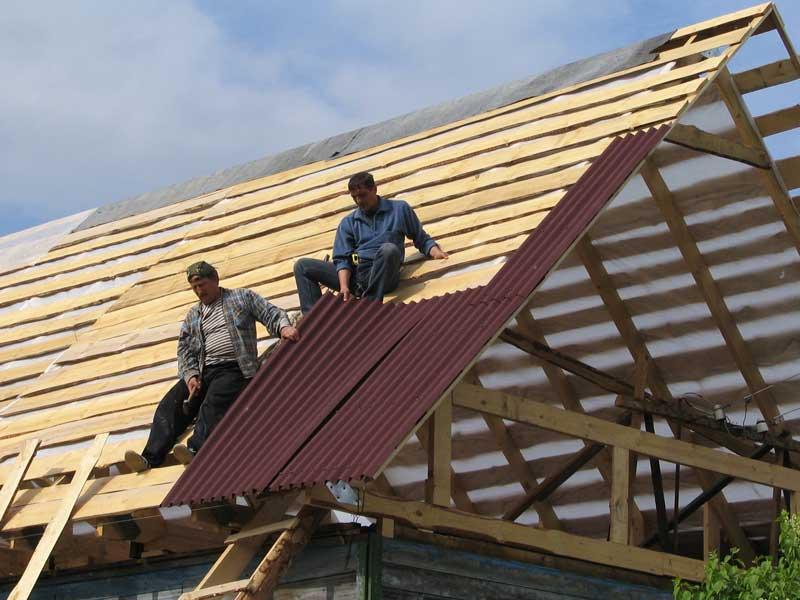 Крыша из ондулина своими руками пошаговая инструкция