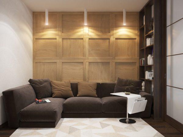 Как правильно подобрать диван для маленькой комнаты
