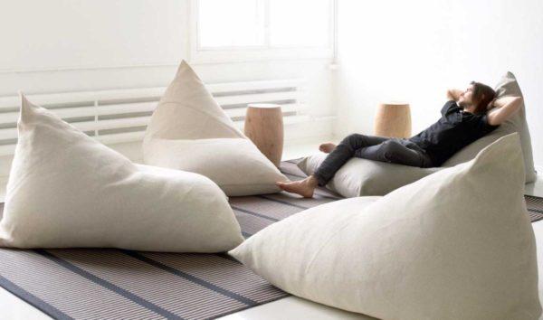 Что такое бескаркасная мебель в чем ее удобства