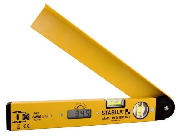 Измерить наклон кровельных скатов можно вот таким прибором — строительным угломером