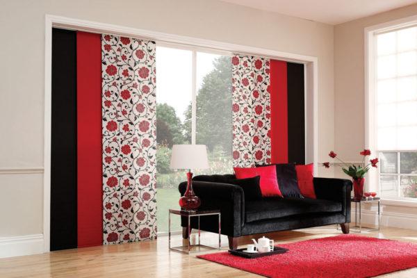 Что такое японские шторы и в каких комнатах их стоит повесить