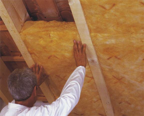 как крышу бани утеплить