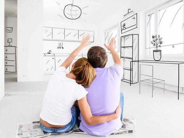Как обустроить квартиру для молодой пары