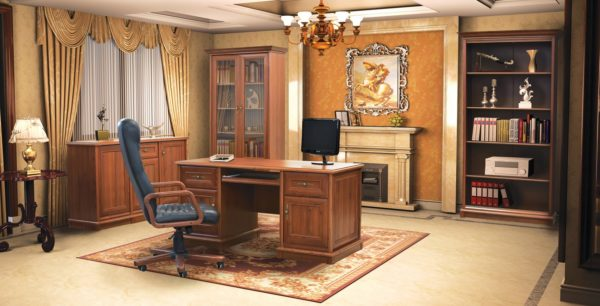 Как правильно организовать удобный рабочий кабинет