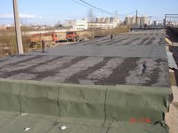 как покрыть крышу гаража рубероидом