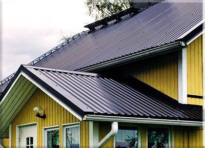 как покрыть металлопрофилем крышу