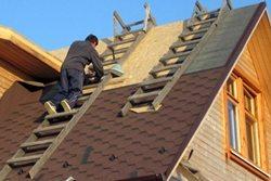 как построить двускатную крышу своими руками