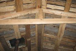 как построить крышу бани