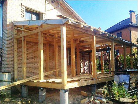 как построить крышу частного дома