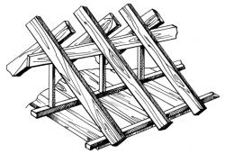 как построить крышу для бани