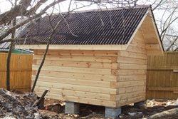 как сделать крышу на баню