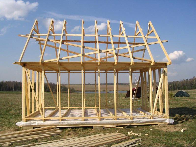 Как построить каркасный дом своими руками 6х6 фото