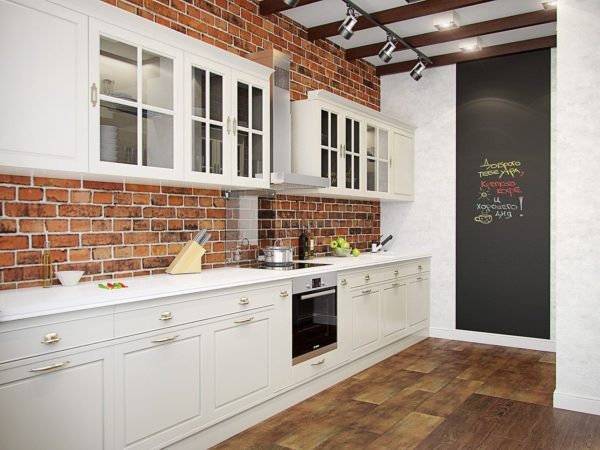 Чем можно отделать стены на кухне