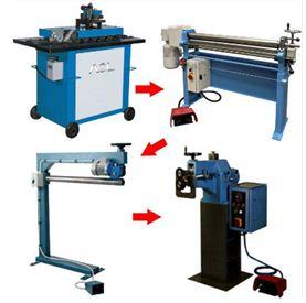Комплект полуавтоматического оборудования для изготовления водостоков