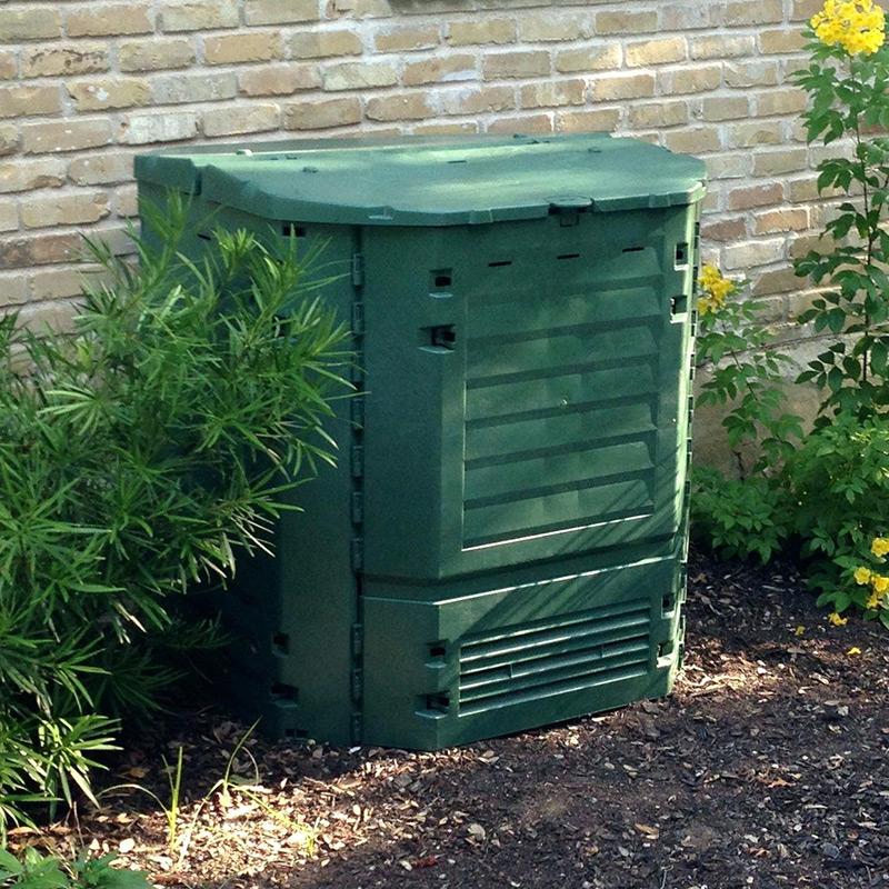 Как использовать садовый компостер?