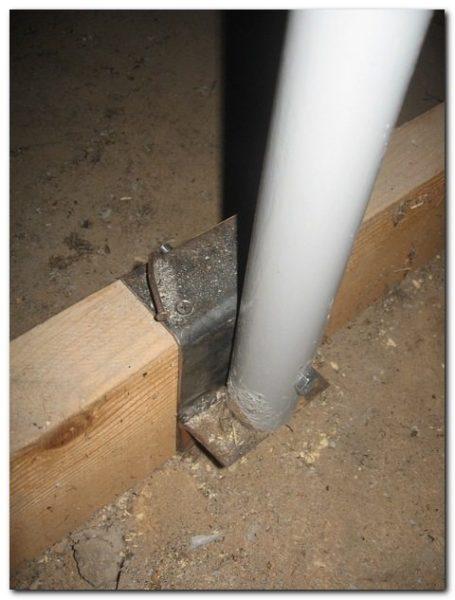Конфигурация вашего крепежа может отличаться, исходите из своей конструкции