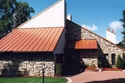 Двускатные крыши одноэтажных домов фото