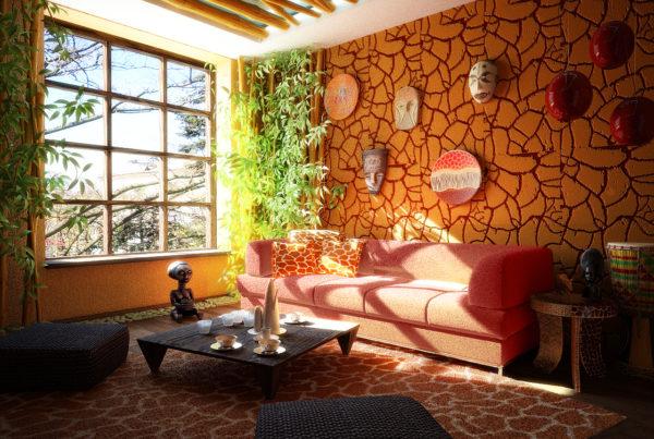 Как применять этнический декор в интерьере квартиры