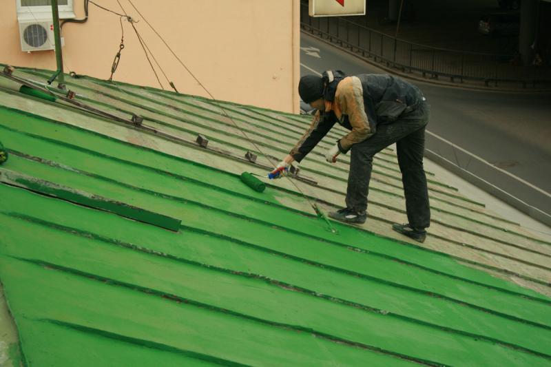 краска для крыши по ржавчине