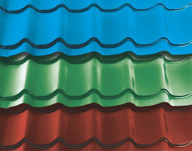 краска для металлических крыш