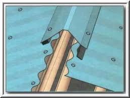 крепление профнастила на крыше