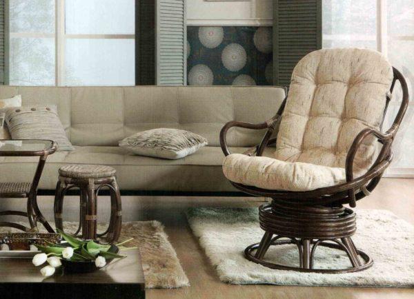 Как выбрать плетенную мебель для квартиры