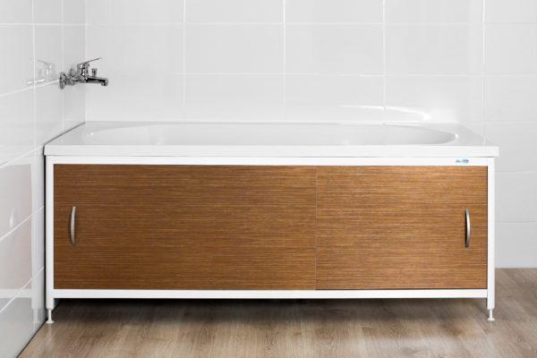 Преимущества раздвижных экранов под ванной