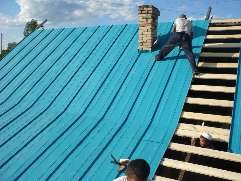 Оцинкованная крыша своими руками 562