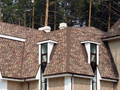 крыша черепичная