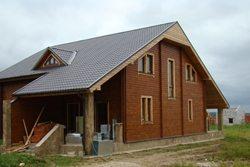 Двускатная крыша дома своими руками расчет -