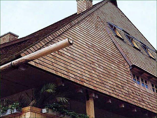 крыша из дранки своими руками