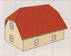 крыша полувальмовая