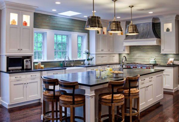 Как использовать американский стиль для обустройства кухни