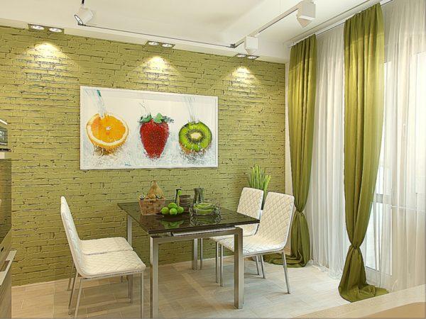 Чем лучше украсить обеденную зону в квартире
