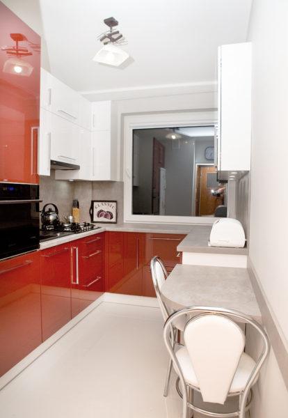 Как обустроить мини-кухню в малогабаритной квартире