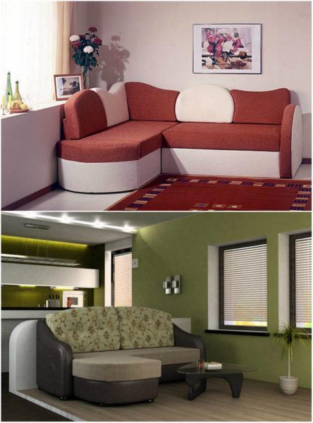 Чем можно заменить диван в небольшой гостиной