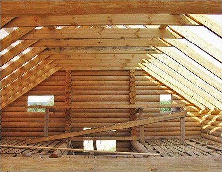 мансардная крыша ломаная