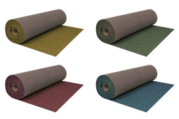 Материал продается в рулонах шириной 1 метр и длиной 10 метров