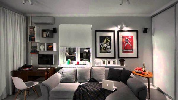 Как создать интерьер квартиры в серых тонах