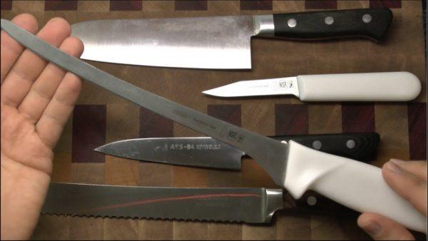 Как выбрать правильный нож на кухню